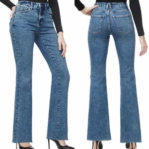NWT Good American Good Flare Jeans 00/24